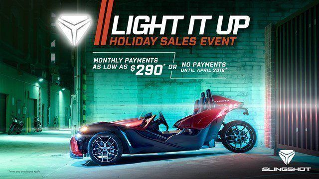 Slingshot Light It Up Sales Event